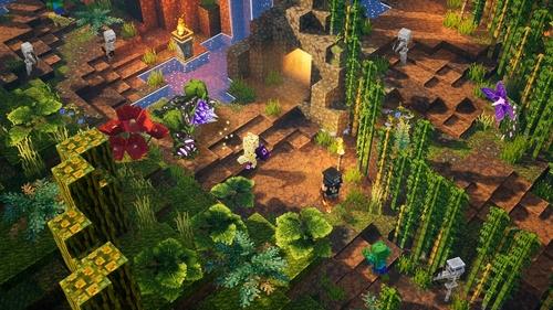 NEWS : Minecraft Dungeons, DLC en vue