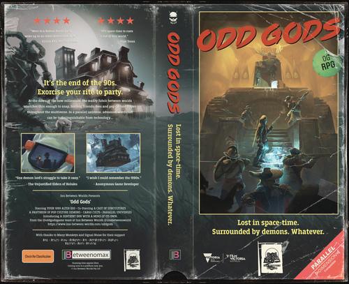 NEWS : Odd Gods, présentation
