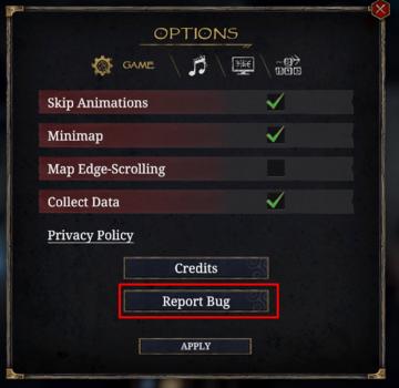 UPDATE : Tainted Grail, patch, corruption et prochainement*
