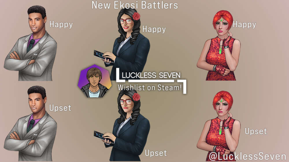 NEWS : Luckless Seven, journal de développement 61*