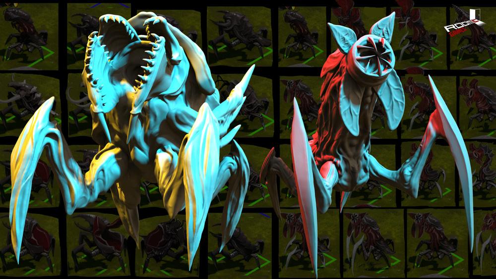 NEWS : The Hand of Merlin, journal de développement 25, les monstres du cataclysme