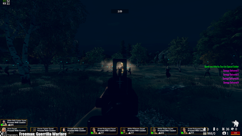 PATCH : Freeman Guerilla Warfare en 1.4.