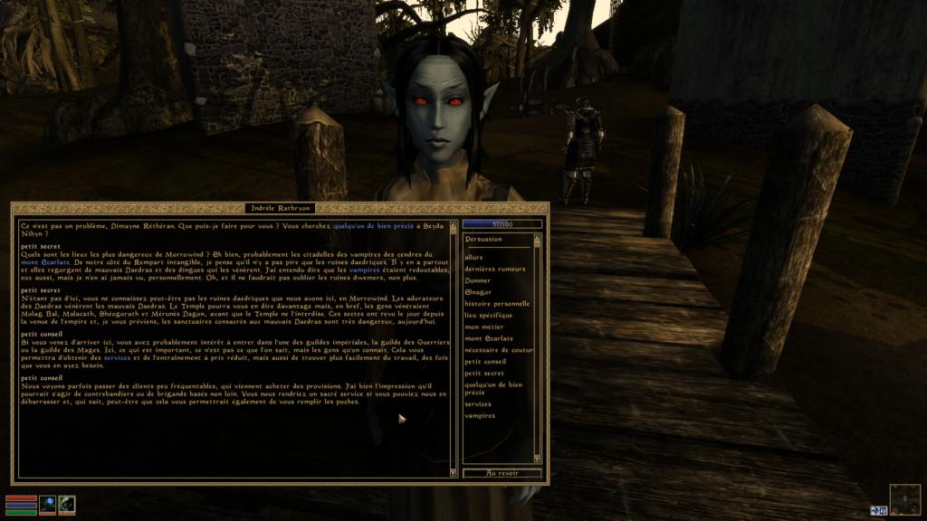 morrowind | RPG Jeuxvidéo