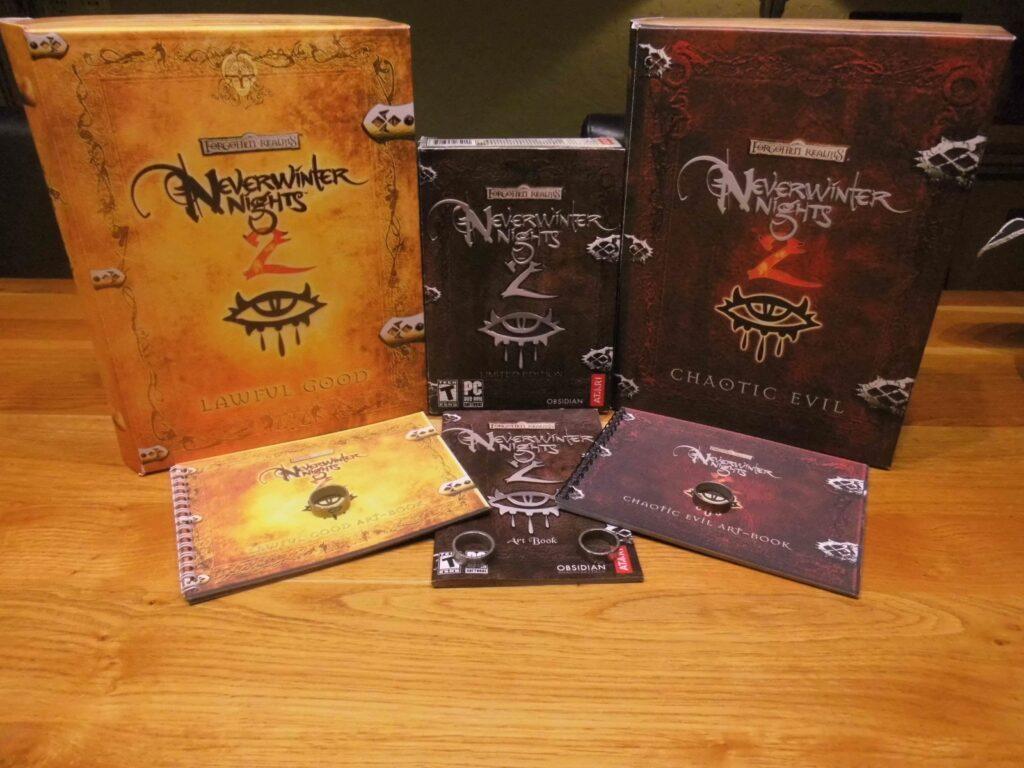 neverwinter nights 2 edition collector Bon ou mauvais il fallait choisir | RPG Jeuxvidéo