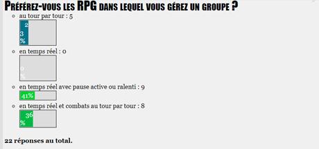 SONDAGE : Préférez-vous les RPG dans lequel vous gérez un groupe ?