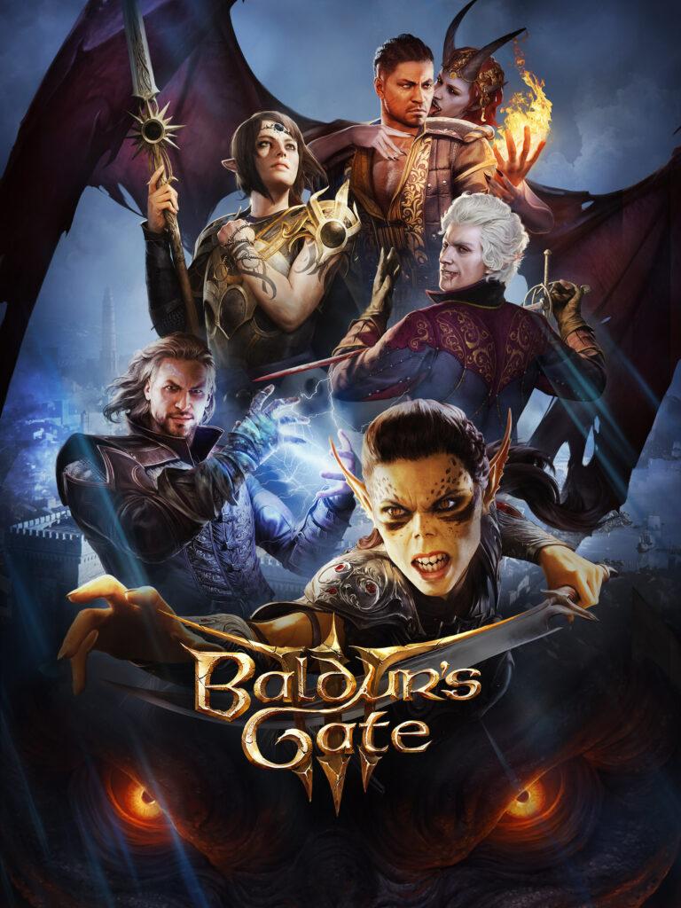 Baldur's Gate 3 affiche