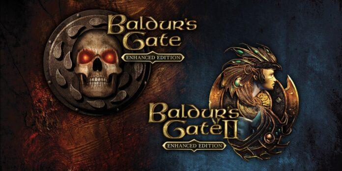 Baldur's Gate 1 et 2 affiche