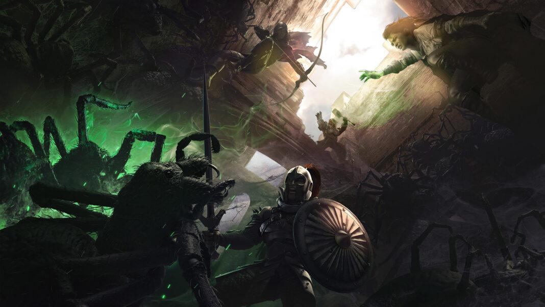 solasta tactical adventures affiche