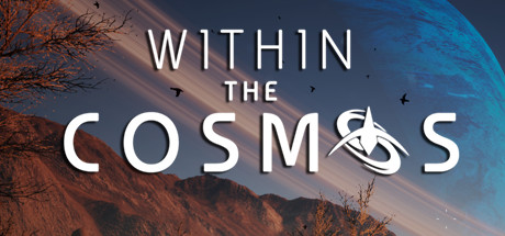 Within the cosmos logo