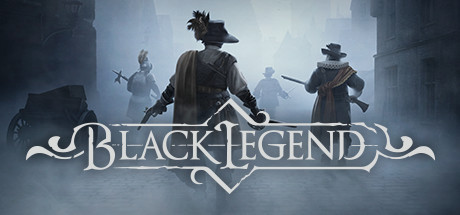 Black legend logo