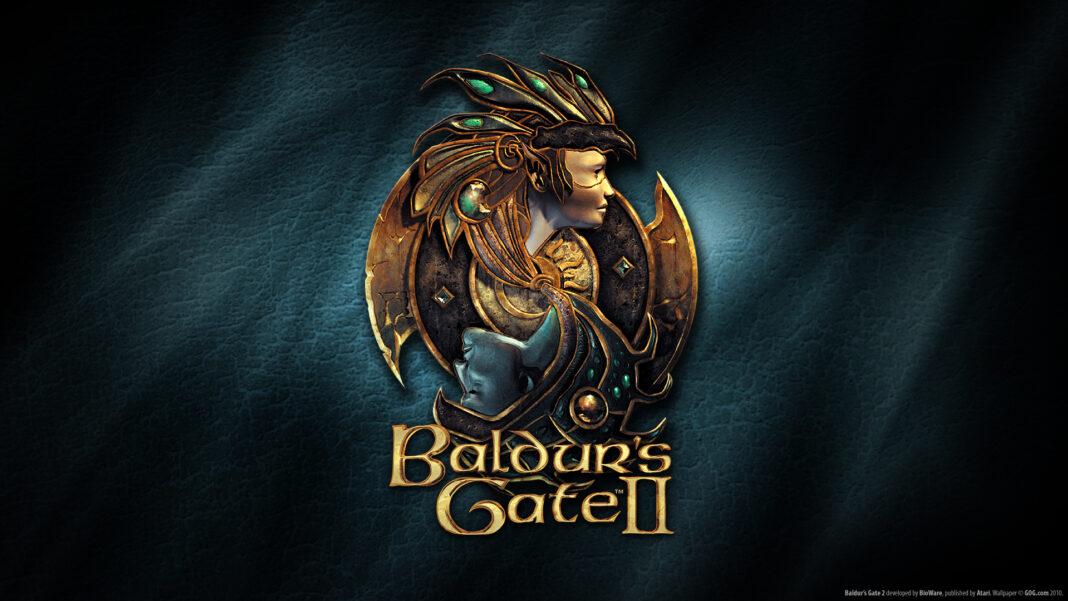 Baldur's Gate 2 affiche