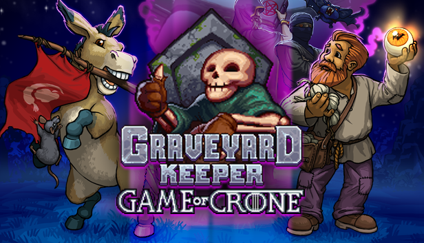 Graveyard keeper game of crone logo