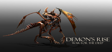 Demon's Rise war for the deep logo