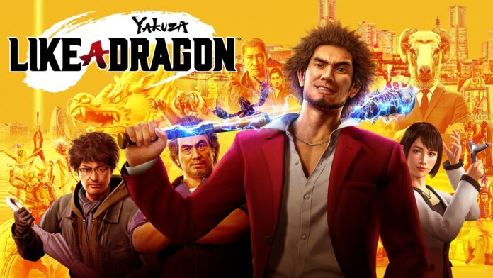 Yakuza like a dragon affiche
