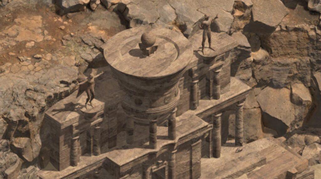 Black Geyser temple 1 | RPG Jeuxvidéo