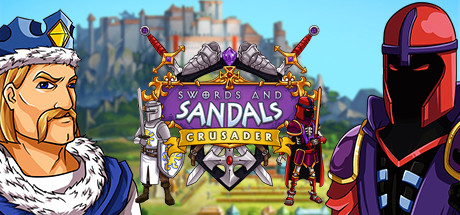 Swords and Sandals : Crusader logo
