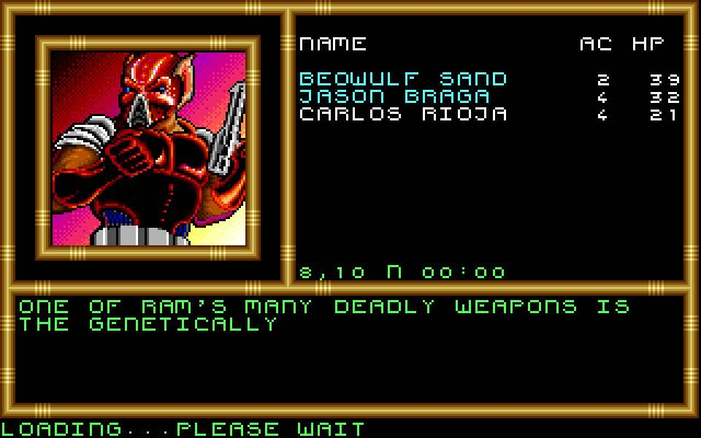 Buck Rogers   RPG Jeuxvidéo