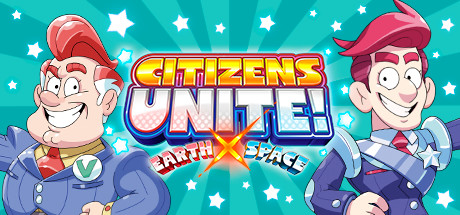 Citizen Unite Earthx space logo
