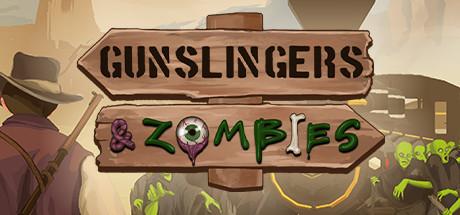 Gunslingers & zombies logo