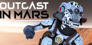 Outcast in mars logo