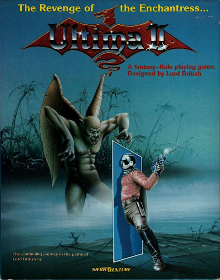 Ultima 2 couverture   RPG Jeuxvidéo