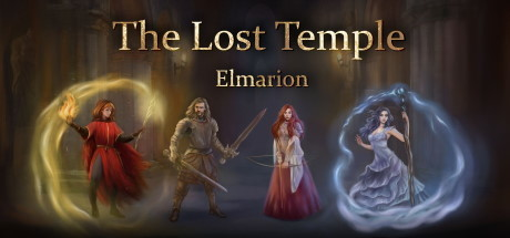 Elmarion the lost temple logo