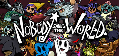 Nobody saves the world logo