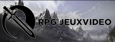 RPG jeux video bannière