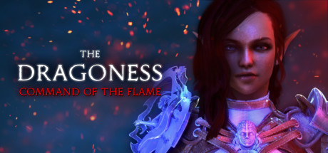 The Dragoness Command of the Flame logo