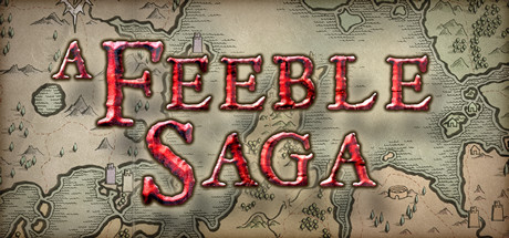A feeble saga logo