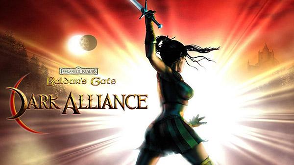 Baldur's Gate Dark Allaince logo