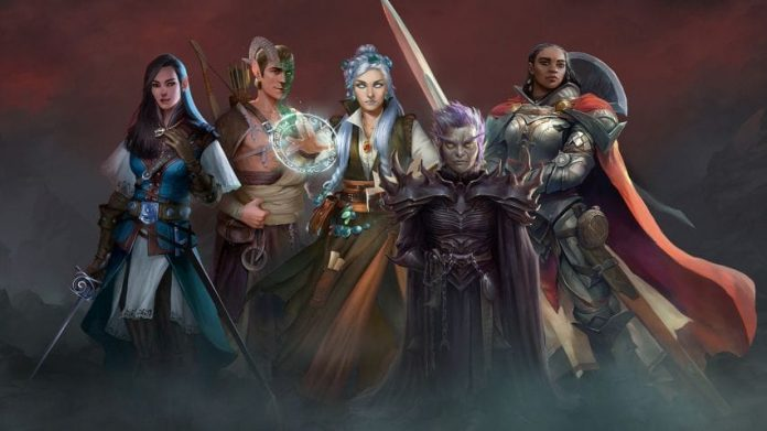Pathfinder Wrath of the Righteous affiche 2