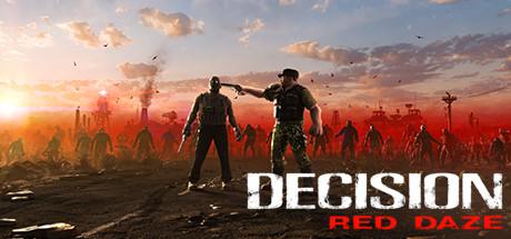Decision red daze logo