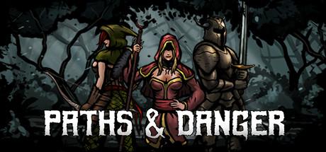 Paths & danger logo
