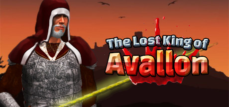 The lost King of Avallon logo