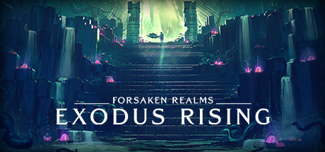 Forsaken Realms Exodus Rising logo