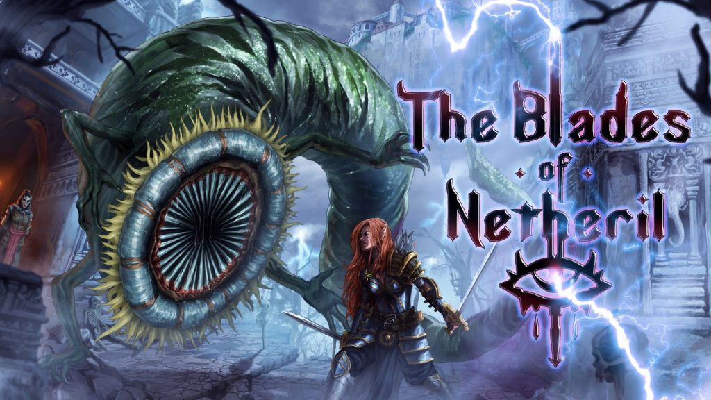 The Blades of Netheril logo
