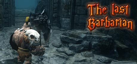 The last barbarian logo